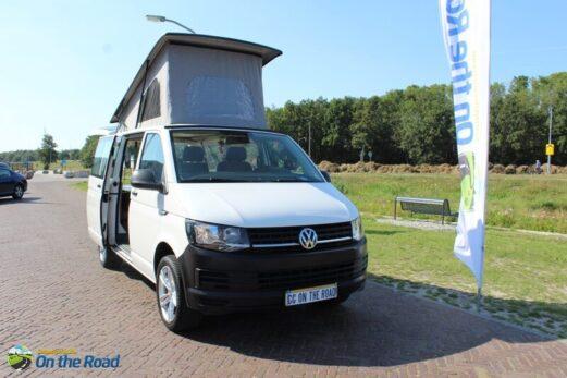 Vw T 6 met Reimo hefdak, 4 pers. motor airco, wegenbelasting € 157,- per 3 mnd.