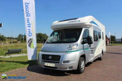 Chausson Flash 06 Fransbed & midden hefbed + motor airco 4 pers