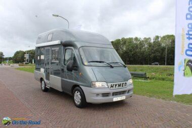 Hymer Exsis, Buscamper , Motor-airco,   Hefbed ,  Trekhaak