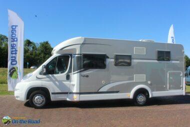 Carado ( Hymer ) T 448. 2.3 M-Jet Enkele bedden, halve dinette, garage, zijbank, draaistoelen etc.
