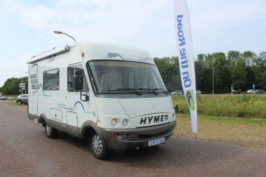 Hymer B 510 Integraal, Mercedes, AUTOMAAT, 5 cilinder, motor airco, Hefbed en Lange-bank etc.