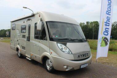 Hymer B 514 SL 130 PK, Star Edition, Integraal, zeer nette camper hefbed & dwarsbed, met garage.