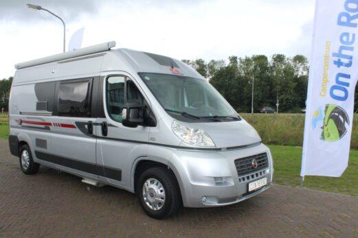 Adria Twin SP 2.3 MultiJet 120 PK Buscamper, Zilver-metallic, Vastbed, Motor-airco