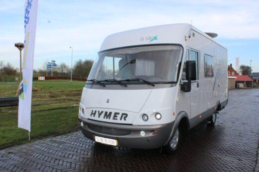 Hymer B 584 – Automaat – Barzit – Hefbed – Langebank – Ruime indeling.