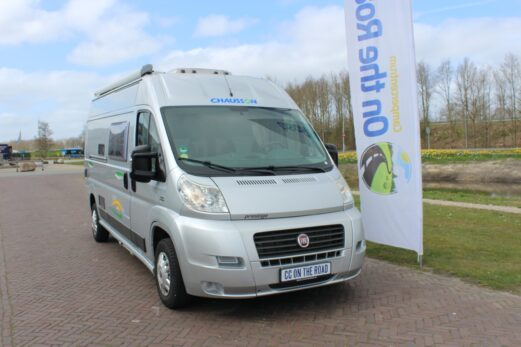 Chausson Twist 02 Buscamper, Vastbed, Motor-airco.