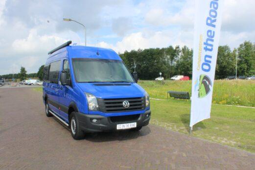 VW Crafter, 2.0 TDI, Buscamper, Vastbed, zelfbouw zeer nette camper, met toilet, Bj. 2015 inbouw 2021! ! !